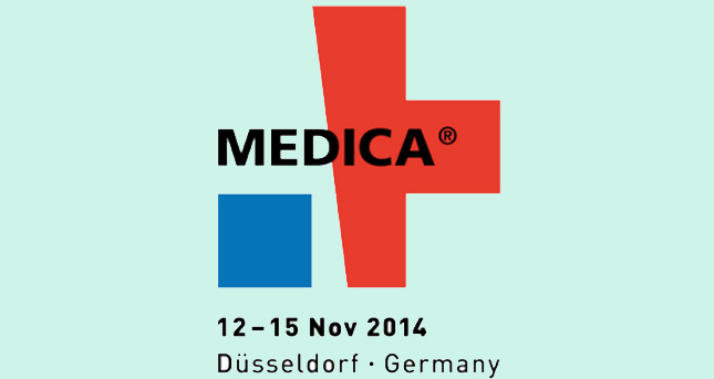 We are at Medica Fair from November 12 to November 15, 2014.