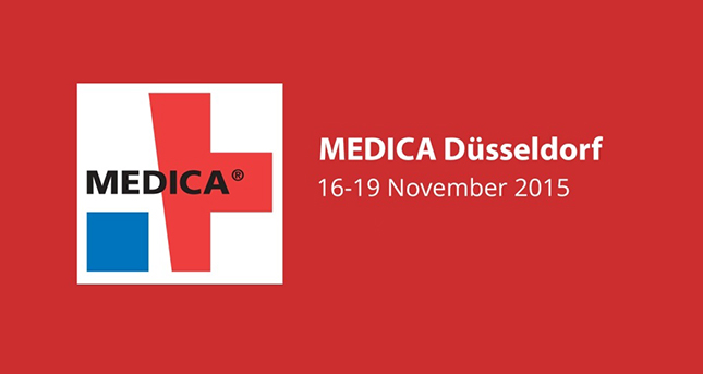 We are at Medica Fair from November 16 to November 19, 2015.