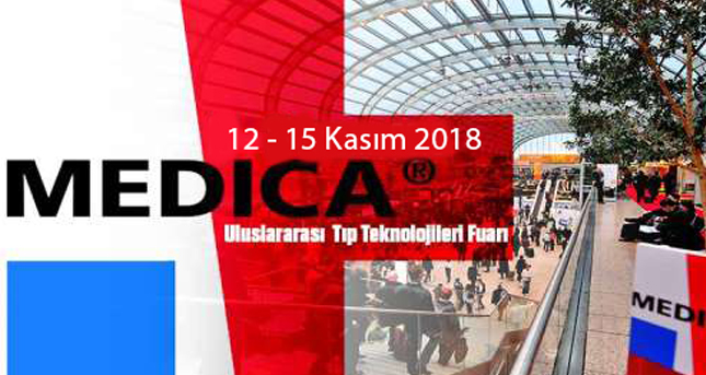 We are at Medica Fair from November 12 to November 15, 2018
