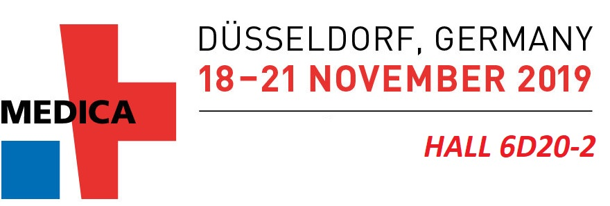 We are at Medica Fair from November 18 to November 21, 2019